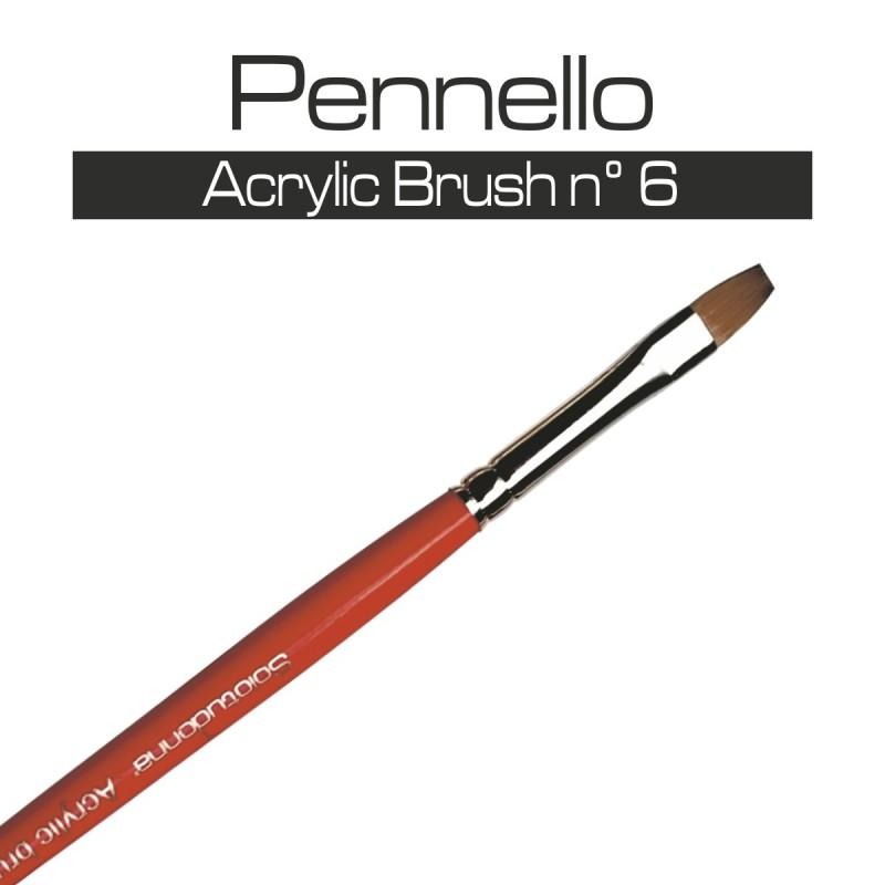 PENNELLO ACRYLIC BRUSH n° 6