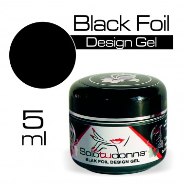 BLACK FOIL DESIGN GEL