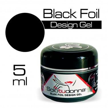 BLACK FOIL DESIGN GEL
