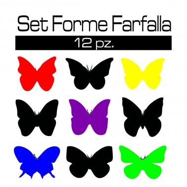 SET FORME FARFALLA