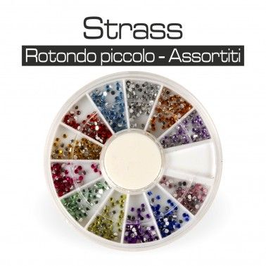 RUOTA STRASS ASSORTITI