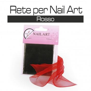 RETE PER NAIL ART ROSSA