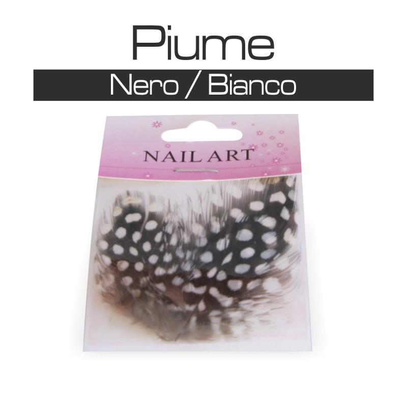 PIUME NERO / BIANCO