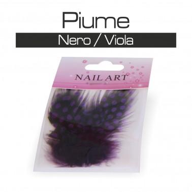 PIUME NERO / VIOLA