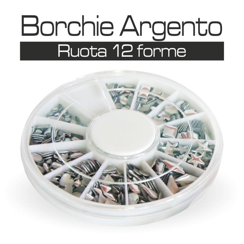 RUOTA BORCHIE ARGENTO