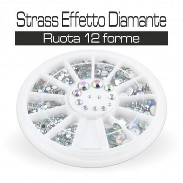 RUOTA STRASS EFFETTO DIAMANTE