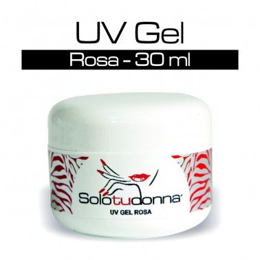 UV Gel Monofasico Rosa Trasparente - 15 ml