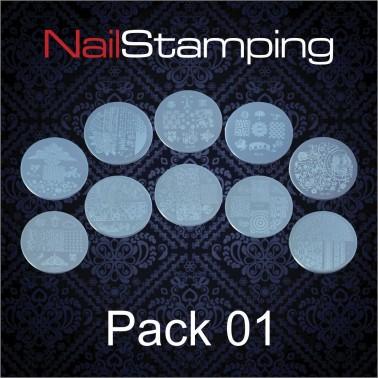 SET DISCHI PER STAMPING PACK 01