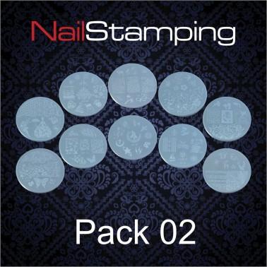 SET DISCHI PER STAMPING PACK 02