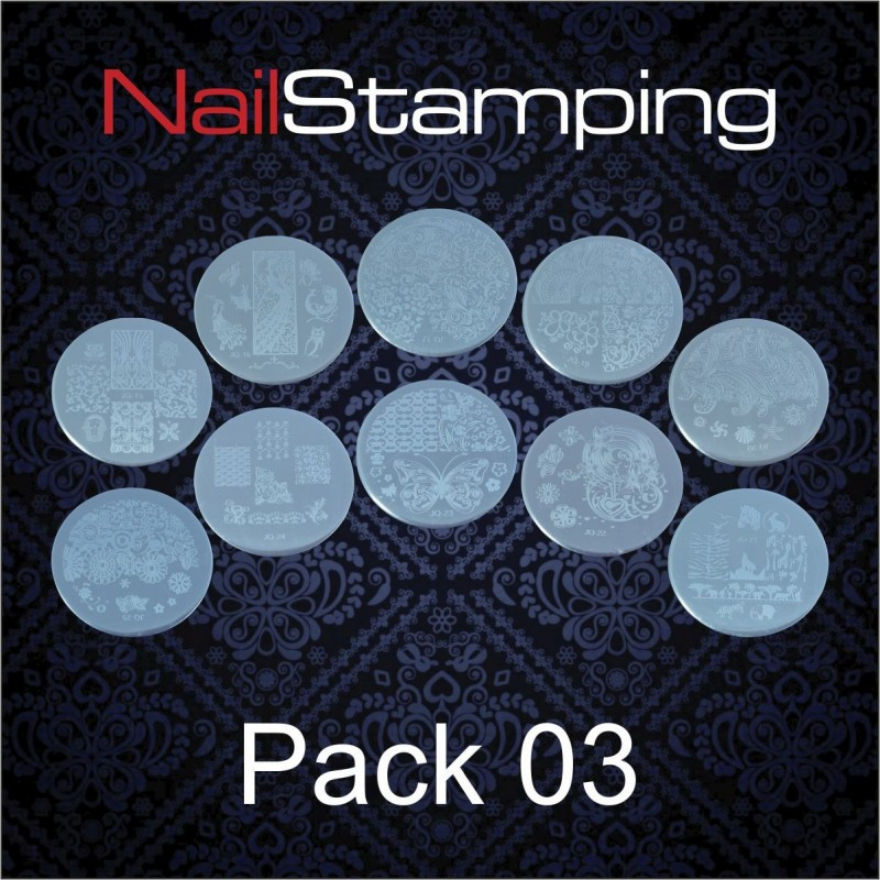 SET DISCHI PER STAMPING PACK 03