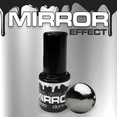 NAIL POLISH MIRROR EFFECT