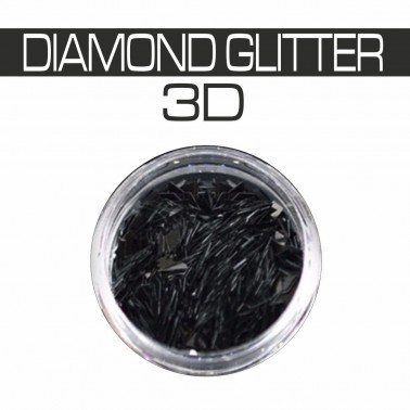 DIAMOND GLITTER 3D NERO