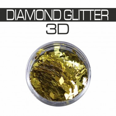 DIAMOND GLITTER 3D ORO