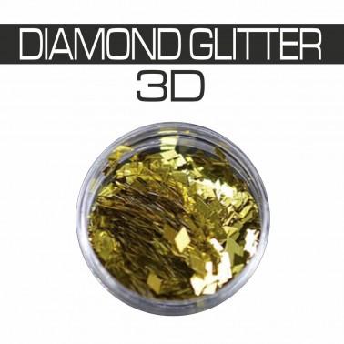 DIAMOND GLITTER 3D ORO