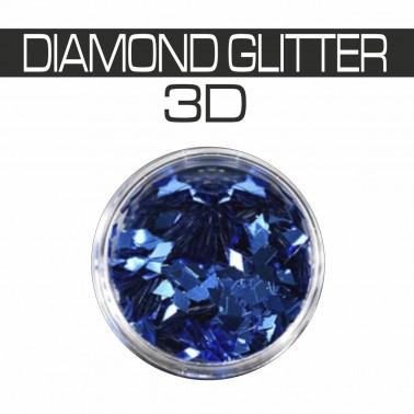 DIAMOND GLITTER 3D BLUE