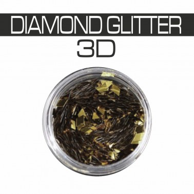 DIAMOND GLITTER 3D ORO OLD