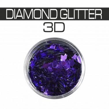 DIAMOND GLITTER 3D VIOLET