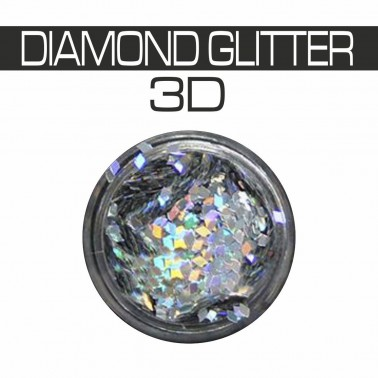 DIAMOND GLITTER 3D MULTICOLOR