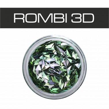 BORCHIE 3D OLOGRAFICHE VERDE