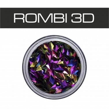 BORCHIE 3D OLOGRAFICHE VIOLA