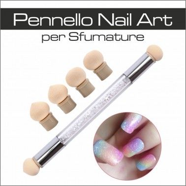 PENNELLO NAIL ART PER SFUMATURE