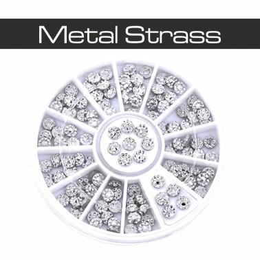 RUOTA METAL STRASS