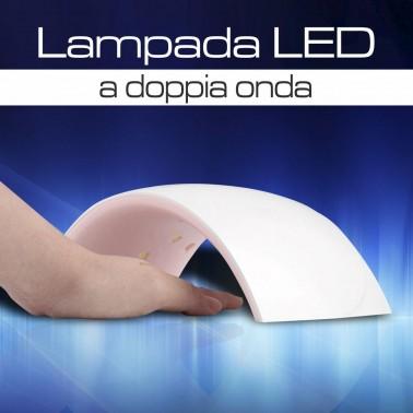 LAMPADA LED A DOPPIA ONDA