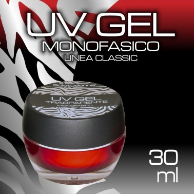 UV GEL MONOFASICO TRASPARENTE 30 ML