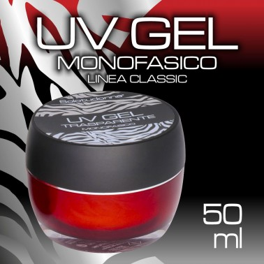 UV GEL TRASPARENTE MONOFASICO 50 ML