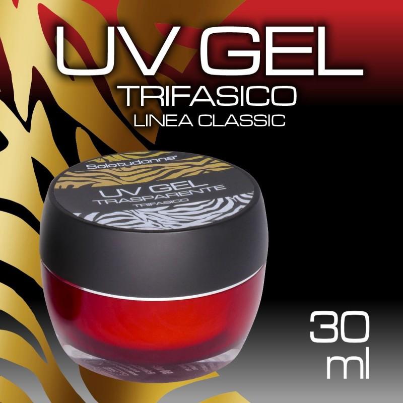 UV GEL TRIFASICO TRASPARENTE 30 ML