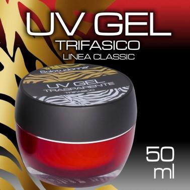 UV GEL TRIFASICO TRASPARENTE 50 ML