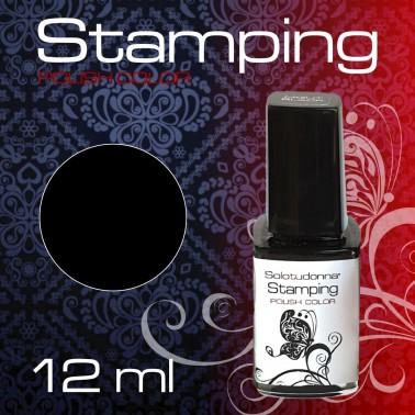 STAMPING NIGHT BLACK
