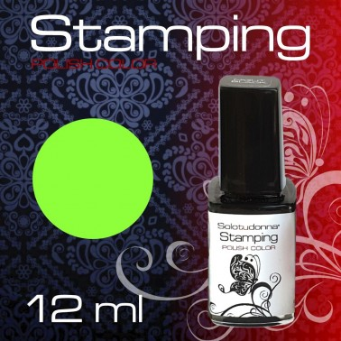 STAMPING NEON GREEN