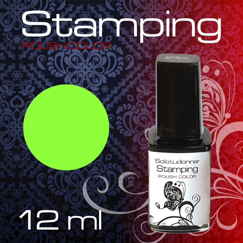 STAMPING NEON GREEN