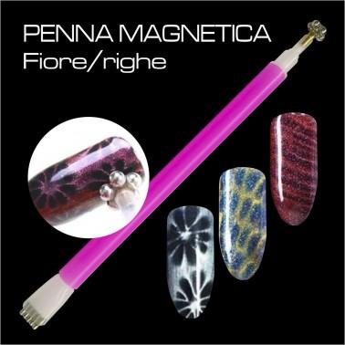 PENNA MAGNETICA FIORE / RIGHE