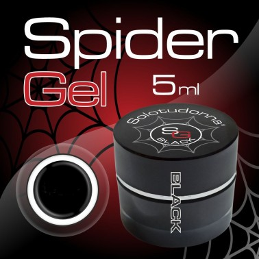 SPIDER GEL NERO