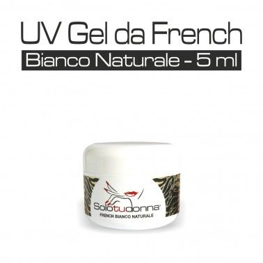 UV GEL DA FRENCH BIANCO NATURALE 5 ML