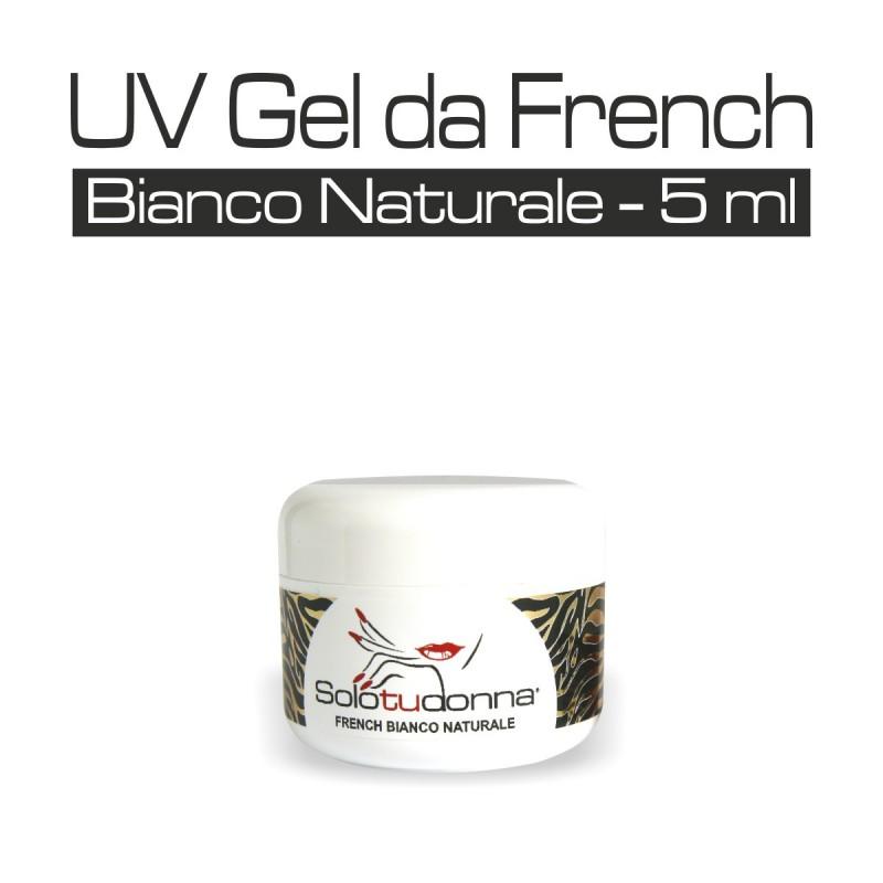 UV GEL DA FRENCH BIANCO NATURALE 5 ML