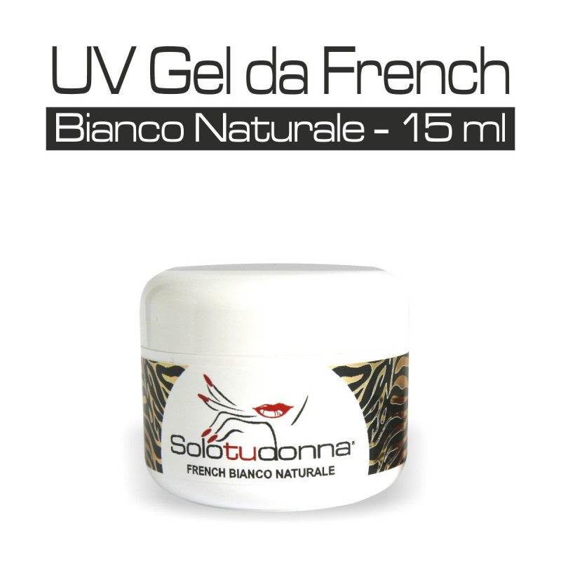 UV GEL DA FRENCH BIANCO NATURALE 15 ML