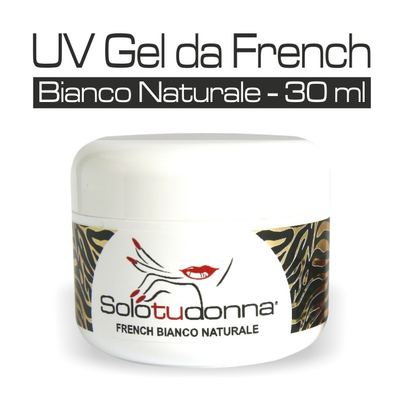 UV GEL DA FRENCH BIANCO NATURALE 30 ML