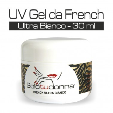 UV GEL DA FRENCH ULTRA BIANCO 30 ML