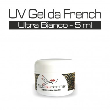 UV GEL DA FRENCH ULTRA BIANCO 5 ML