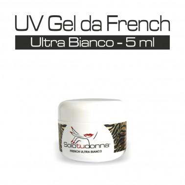 UV GEL DA FRENCH ULTRA BIANCO 5 ML