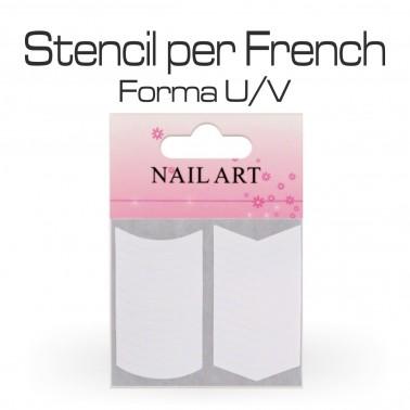 STENCIL PER FRENCH U/V