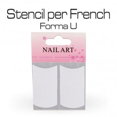 STENCIL PER FRENCH U