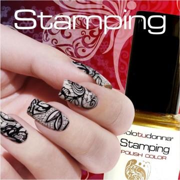Nail Stamping Solotudonna