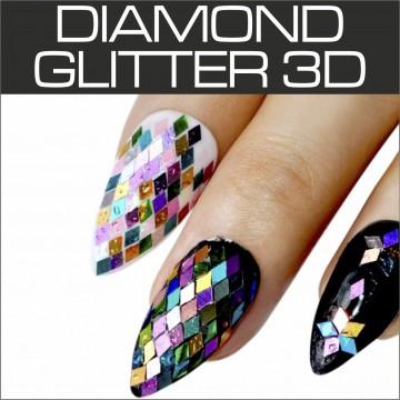 DIAMOND GLITTER 3D